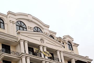 Осенние зарисовки улицы,здания,морской порт, г.Одесса, Украина