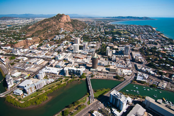 Aerial view of Townsville, Australia