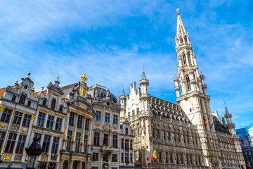 The Grand Place in Brussels