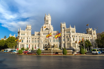 Wall Mural - Cibeles Palace in Madrid