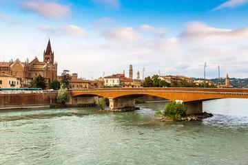 Wall Mural - Cityscape of Verona, Italy