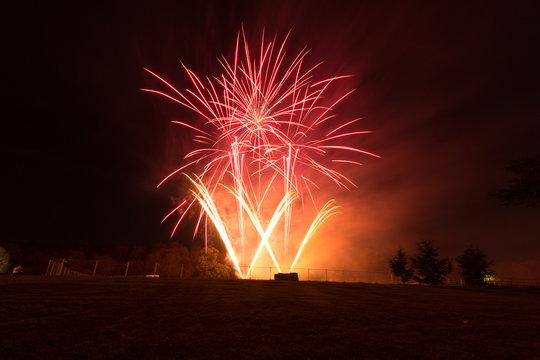 Fireworks in Watford