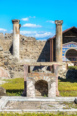 Wall Mural - Pompeii city