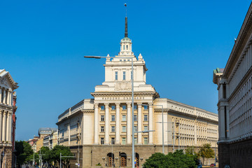 National assembly building in Sofia