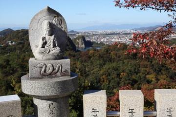 犬山寂光院からの眺望