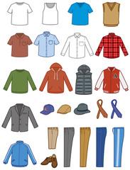 衣類 男性セット