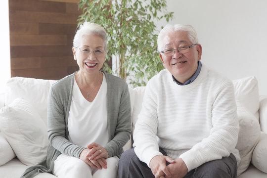 An old couple's portrait