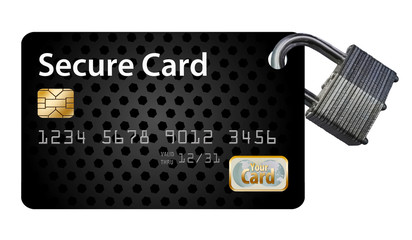 This is a safe and secure credit card with security features to keep your financial information safe.