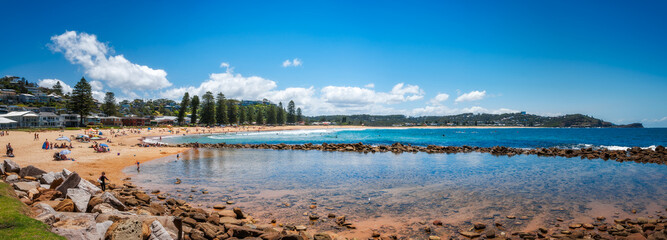 Avoca Beach Panorama, Central Coast, Australia