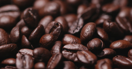 Baked Coffee bean texture