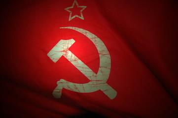 Soviet Ukraine Flag