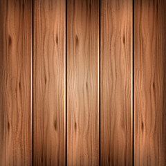 Vector brown wood background