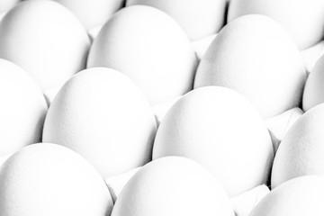 White  texture panel eggs