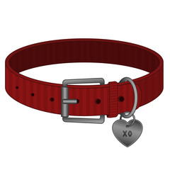 Red Pet Collar - Cats and Dogs