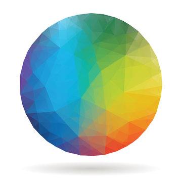 rainbow ball low