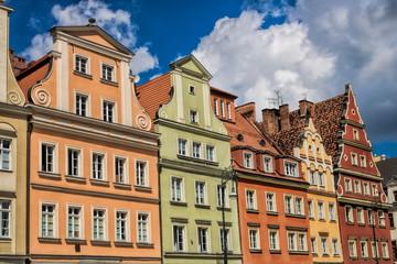 Wroclaw, Sanierte Altbauten