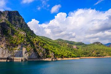 Photo sur Toile Barrage Water Dam In Antalya