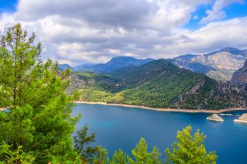 Green Canyon At Turkey