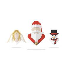 Christmas character vector illustration