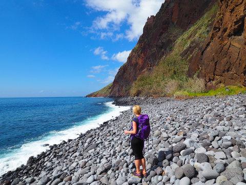 Küstenwanderung im Süden Madeiras