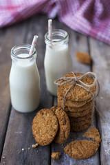 süt ve kurabiyeler, yiyecek