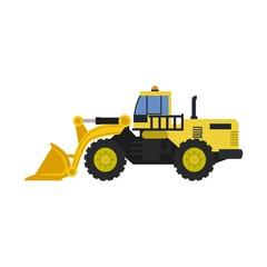 truck construction logo
