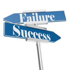 Success or Failure signs