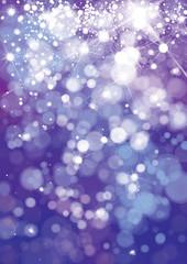 Vector violet,  sparkle background. Christmas background.
