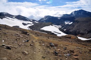 Kamchatka, volcano, crater, lava, Russia, travel, adventure, tourism, clouds, peak, desert, trekking, Камчатка, вулкан, кратер, лава, россия, путешествия, приключения, туризм, облака, пик
