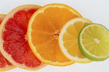 Fotobehang Plakjes fruit orange slices