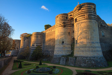 Château d'Angers, Château de la loire