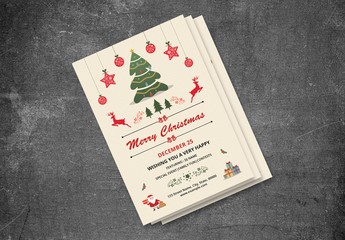 Christmas Party Invitation Flyer 22