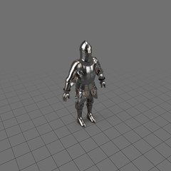 Medieval knight's armor