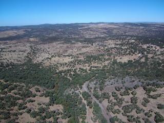 Cumbres de Enmedio pueblo de Huelva, Andalucía