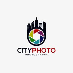 City Photo - Photography Studio Logo Template