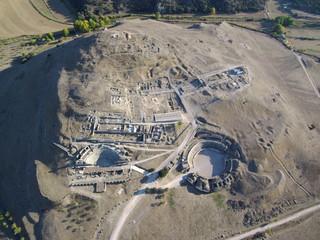 Parque Arqueológico de Segóbriga, ubicado en Saelices (Cuenca, Castilla La Mancha, España)