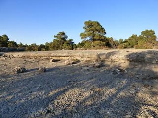 Ciudad encantada,paraje natural en la serriania de Cuenca, Castilla la Mancha