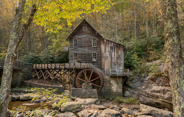 Babcock grist mill in West Virginia
