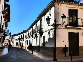 Campo de Criptana pueblo en Ciudad Real, (Castilla La Mancha, España)