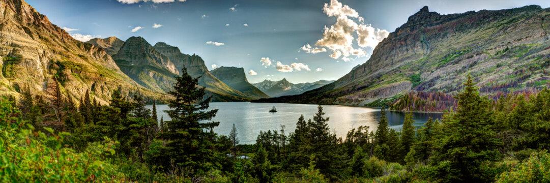 Montana Glacier National Park Vista