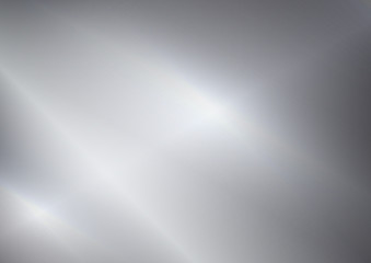 Obraz Metal Silver abstract background - fototapety do salonu
