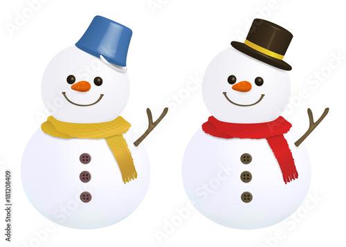 雪だるま イラストfotoliacom の ストック写真とロイヤリティフリーの
