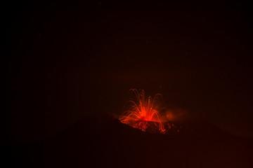 Etna Vulcano Sicily Fototapete