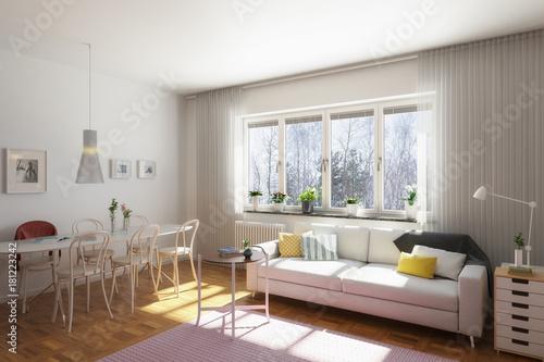 Einfache Wohnzimmereinrichtung Stock Photo And Royalty Free Images