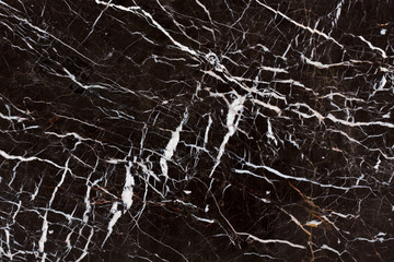 Dark brown and white patterned structure of dark gray marble texture for design.