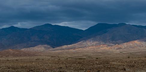 Beautiful clay mountain in California