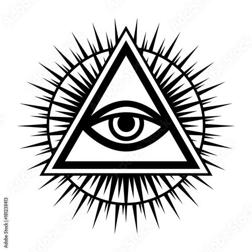 All Seeing Eye Of God The Eye Of Providence Eye Of Omniscience