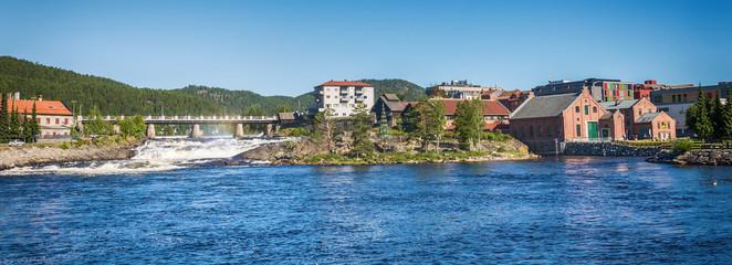 Kongsberg town, Norway