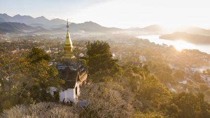 Mount Phousi, Luang Prabang, Laos.