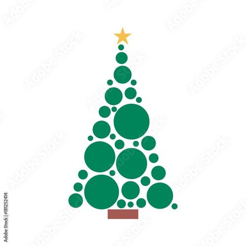 christmas tree vector logo stock image and royalty free vector rh fotolia com christmas tree hologram christmas tree lego instructions